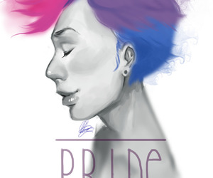 bi, bisexual, and pride image