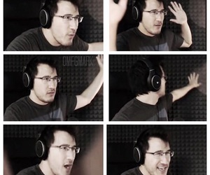 boy, markiplier, and markimoo image