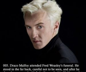 draco malfoy, harry potter, and draco image