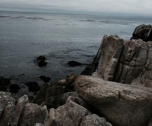 black, mermaid, and rocks image