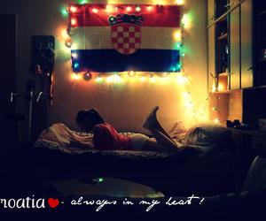 beautiful, Croatia, and flag image