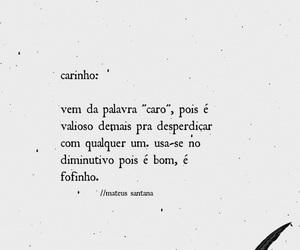 carinho, poesia, and amor image
