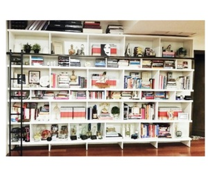 books, decor, and home image