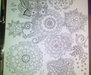 art, mandala, and zentagle image