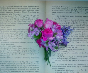 book, enjoy, and flowers image