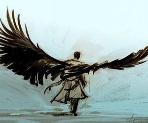 supernatural, castiel, and art image