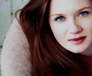 actress, ginny weasley, and harry potter image