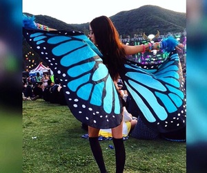 butterfly, diy, and fashion image