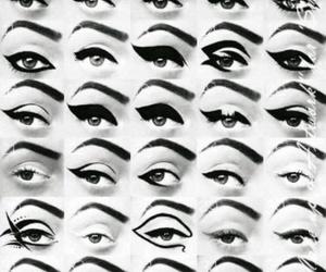 eye, eyebrow, and lines image