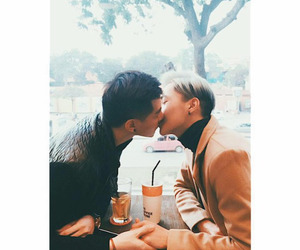 asian, gay, and asian couple image