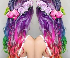 beautiful, fashion, and hairstyle image
