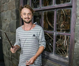 draco malfoy, tom felton, and felton image