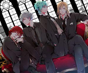 camus, uta no prince-sama, and quartet night image