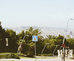 Barcelona, city, and summer image