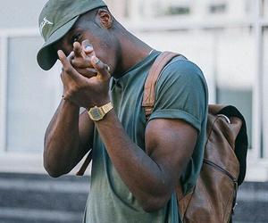 Abraham, black man, and fashion image