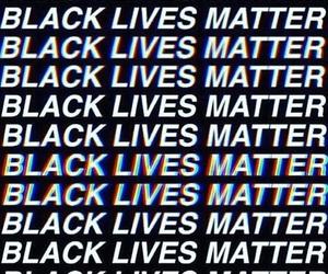 black and black lives matter image