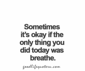 quotes, breathe, and life image