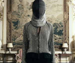 fashion, fencing, and mask image