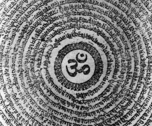 om, Mantra, and Ohm image