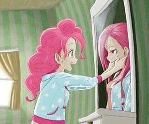 sad, happy, and pinkie pie image