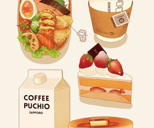 food, art, and cake image
