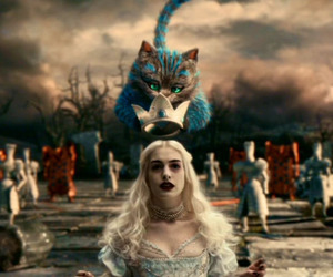 alice, glass, and Queen image
