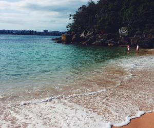 beach, malibu, and travel image