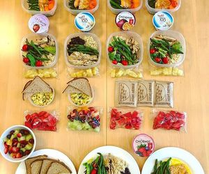 fitness, follow, and food image
