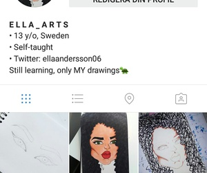 art, instagram, and myaccount image