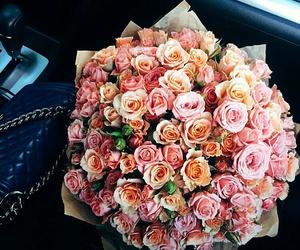fashion, flowers, and beauty image