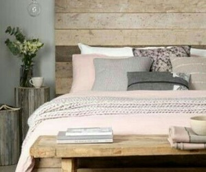grey, pink, and room image