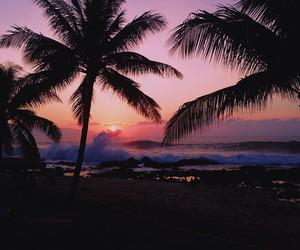 amazing, beach, and sunset image