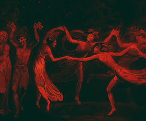 art, red, and dance image