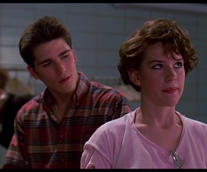 sixteen candles, Molly Ringwald, and movie image