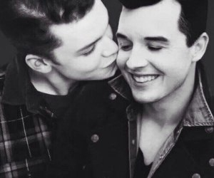 shameless, gallavich, and gay image