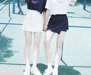korean fashion and white image