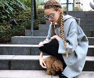 dog, fashion, and hair image