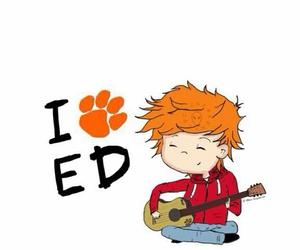 ed sheeran, love, and drawing image