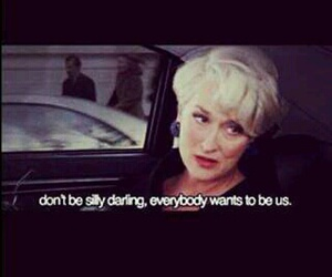 movie, thedevilwearsprada, and Queen image
