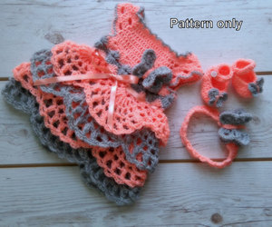 etsy, baby shower, and crochet shoes image