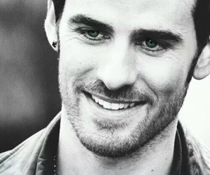colin o'donoghue, captain hook, and once upon a time image