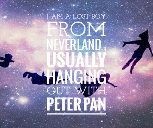 neverland, peter pan, and lost boy image