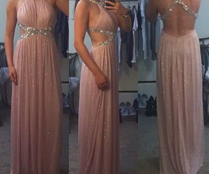 dress, Prom, and promgirl image