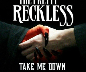 Taylor Momsen, the pretty reckless, and new single image