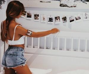 girl, fashion, and bedroom image