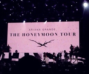 ariana grande, theme, and tour image