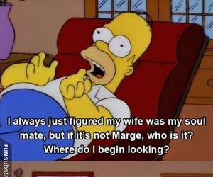 funny, lol, and homer image