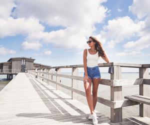fashion, kenza zouiten, and skinny girl image