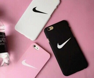 nike, black, and pink image