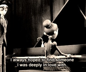 love, corpse bride, and quotes image